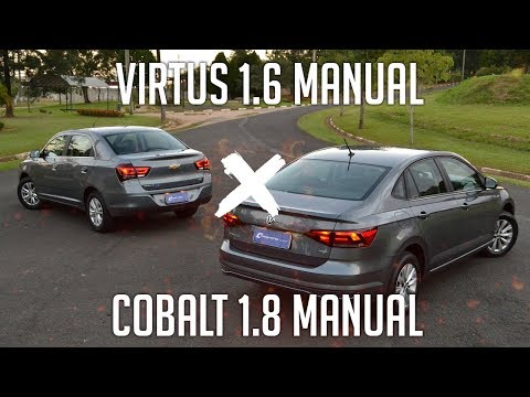 Comparativo: Virtus 1.6 Manual x Cobalt 1.8 Manual
