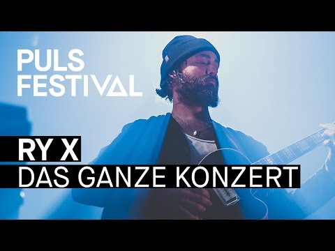 RY X feat. Münchner Rundfunkorchester live beim PULS Festival 2016 (Full Concert)