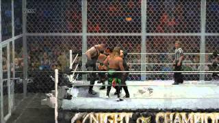 WWA DX vs Brothers of Destruction Hell In A Cell Ending Part 12