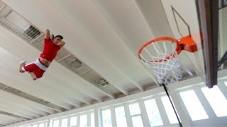 Repeat youtube video Slam Dunk Supertramp Style - Faceteam Basketball