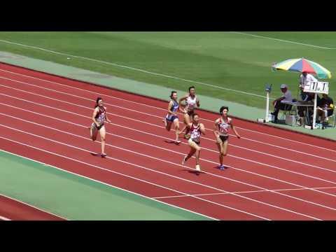 第73回京都陸上競技選手権大会 女子200m 予選5組