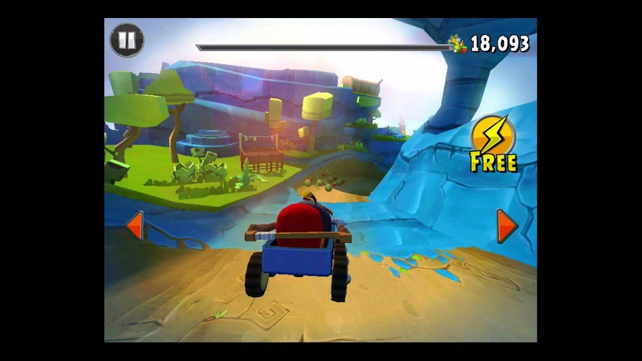 Angry Birds Go! Rocky Road Track 2- Fruit Splat 3