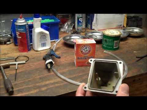 How-To: DIY Soda Blaster - Cleaning Motorcycle Carburetor