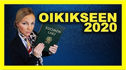 Oikeustiede 2020 | PÄÄSYKOE & TODISTUSVALINTA