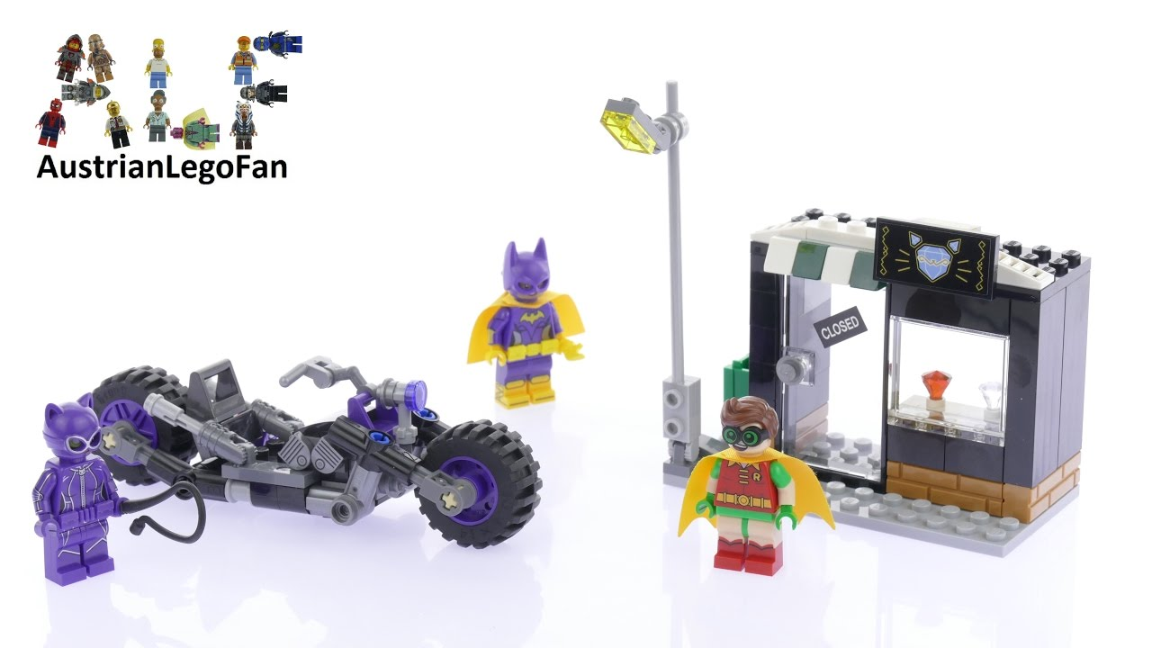 LEGO® Batman Movie Catwoman Catcycle Chase 70902