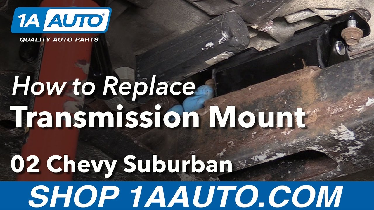 hight resolution of how to replace automatic transmission mount 00 06 suburban 1500