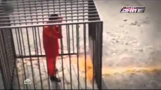 Боевики ИГИЛ заживо сожгли заложника и похвалились видеозаписью казни в Интернете 05 05 2015