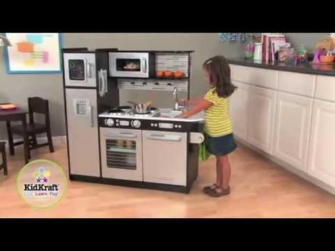 cuisine uptown expresso - kidkraft - decobb - youtube