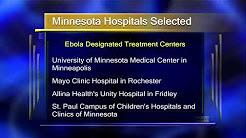 Minnesota Ebola Treatment Centers - Lakeland News at Ten - October 24, 2014