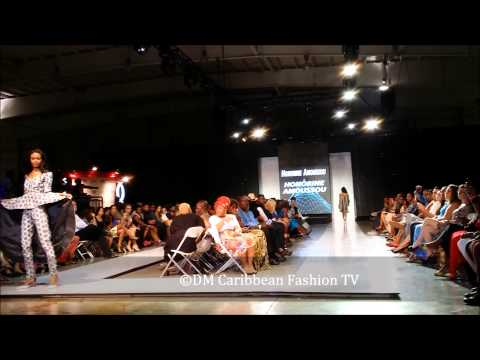 …Caribbean Fashion Week 2014,15th June:Fashion show 19  Honorine Amoussou from Benin