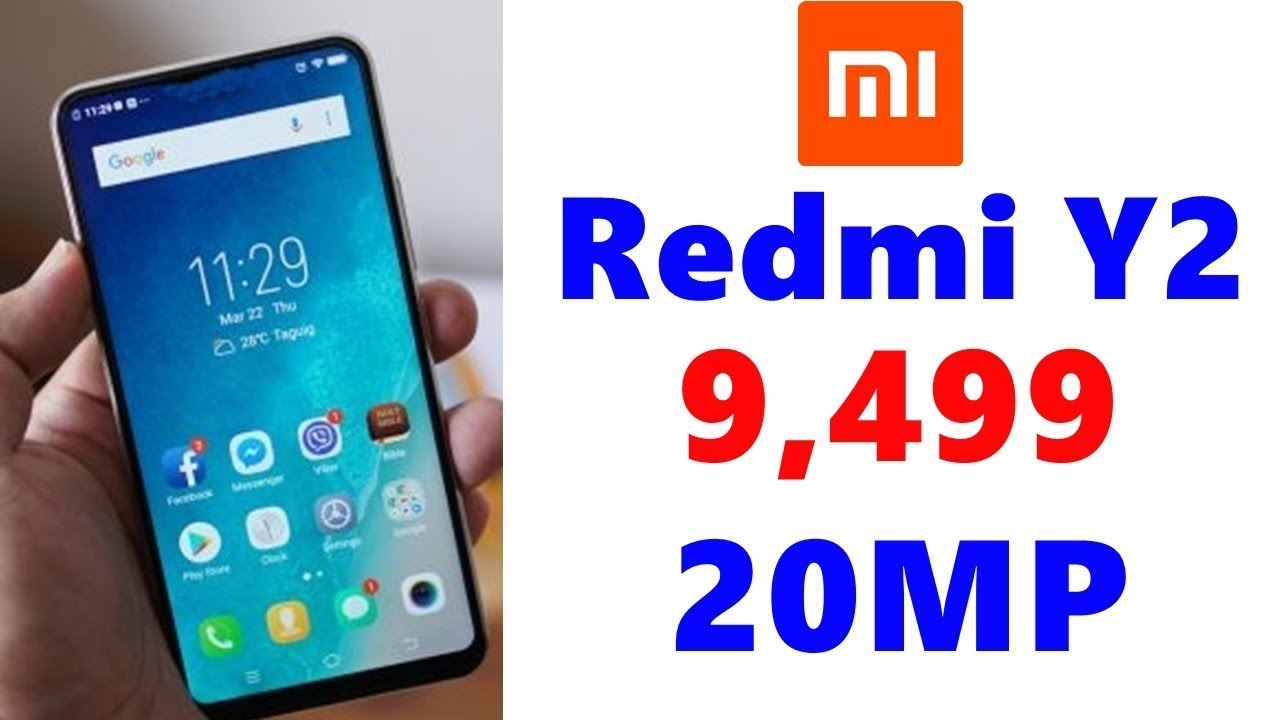 Redmi Y2 Release Date In India, Price, Specifications, Features