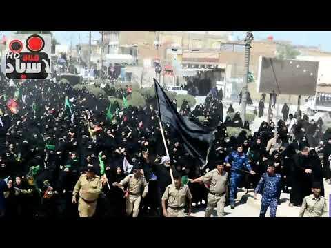 تغطية قناة الاسياد لمراسيم ركضة طويريج في قضاء الدغاره شارع المواكب الحسينية