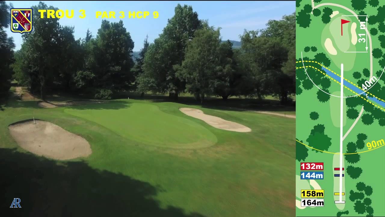 Vidéo du trou numéro 3 | Golf La Barouge Mazamet