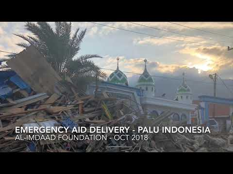 Emergency Aid Delivery - Palu Indonesia OCT 2018