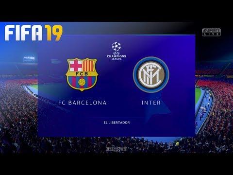 FIFA 19 - FC Barcelona vs. Inter Milan @ El Libertador