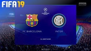 Check out this brand new fifa 19 gameplay of the champions league by beatdown gaming on ps4. in match fc barcelona take inter milan at el libertador!...