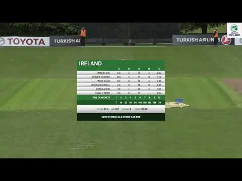 LIVE Cricket - Ireland Vs Afghanistan 1st ODI
