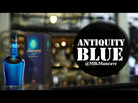 Antiquity Blue Blended Whisky Review | #FanFriday