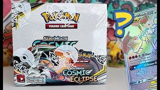 NEW Pokemon Cosmic Eclipse Booster Box Opening
