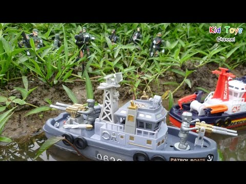 Marine patrol boats Marine rescue Toy for kids