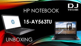 Unboxing HP15 AY563TU  -  Low Budget multi-purpose Laptop with best configuration ever.
