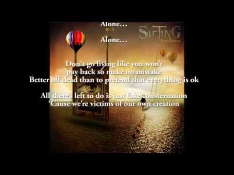 """Alone"" by Sifting (Lyric Video)"