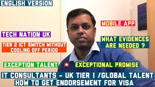 Download IT Consultants - UK Tier 1 | Global Talent |Guide for Endorsement |TechNation | English