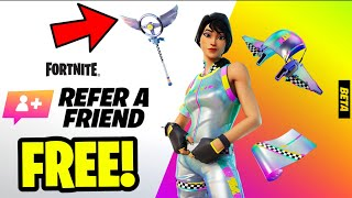 How to Complete Tнe REFER A FRIEND CHALLENGES in Fortnite! (Refer A Friend Quests)
