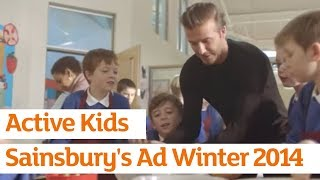 Active Kids | Sainsbury's Ad | Winter 2014