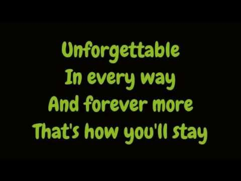 Nat King Cole  Unforgettable Lyrics HD