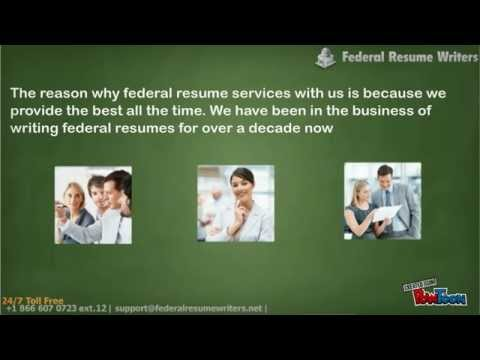 Federal Resume Writers YouTube