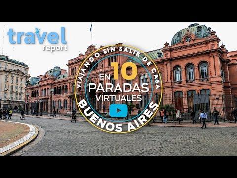 Buenos Aires en 10 paradas virtuales