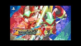 Mega Man Zero/ZX Legacy Collection - Announcement Trailer | PS4