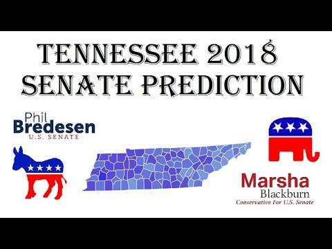 2018 Senate Predictions - Why Phil Bredesen Will Win Tennessee - Phil Bredesen vs Marsha Blackburn