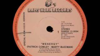 Patrick Cowley and Marty Blecman - Menergy (Mother F. remix)