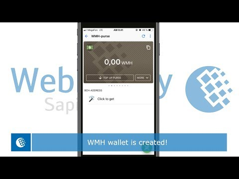 How To Create A Bitcoin Cash Wallet In The WebMoney Keeper App