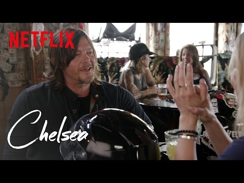 The Walking Dead's Norman Reedus Takes Chelsea for a Ride | Chelsea | Netflix