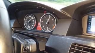 BMW E60 535M Bi-TURBO. 5 СЕКУНД ДО 100 КМ/Ч ПРИ РАСХОДЕ 7 ЛИТРОВ НА СОТНЮ! Взгляд изнутри.