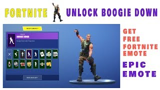 Get Boogie down emote in Fortnite for Free By Enabling two-factor authentication