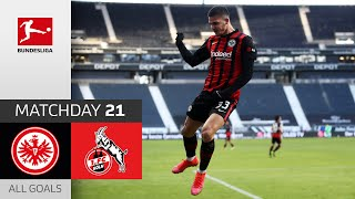 #sgekoe | highlights from matchday 21!► sub now: https://redirect.bundesliga.com/_bwcs watch all goals of eintracht frankfurt vs. 1. fc köln 21...