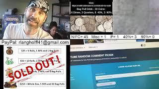 🔴Friday Half Dollar Hunt Live Stream - Silver Searchin!
