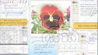 quiltcad quilting pattern software overview