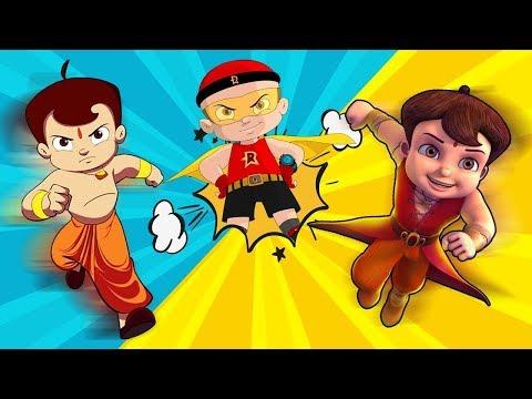 Chhota Bheem - Mighty Super Heroes World
