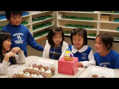 Lauren Joy's 7th Birthday at Monarch Christian Academy 1/3/17