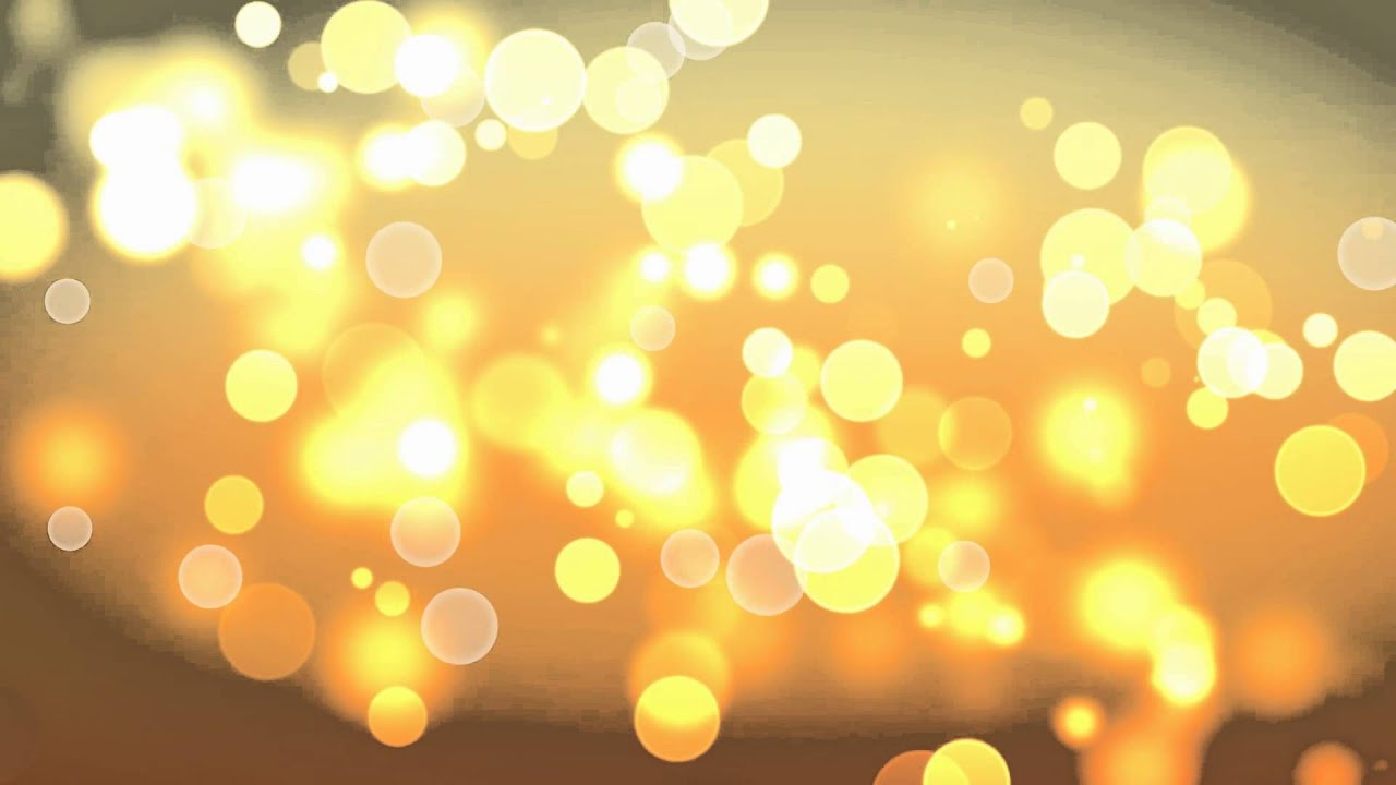 Background Hd Golden Bokeh Footage Youtube