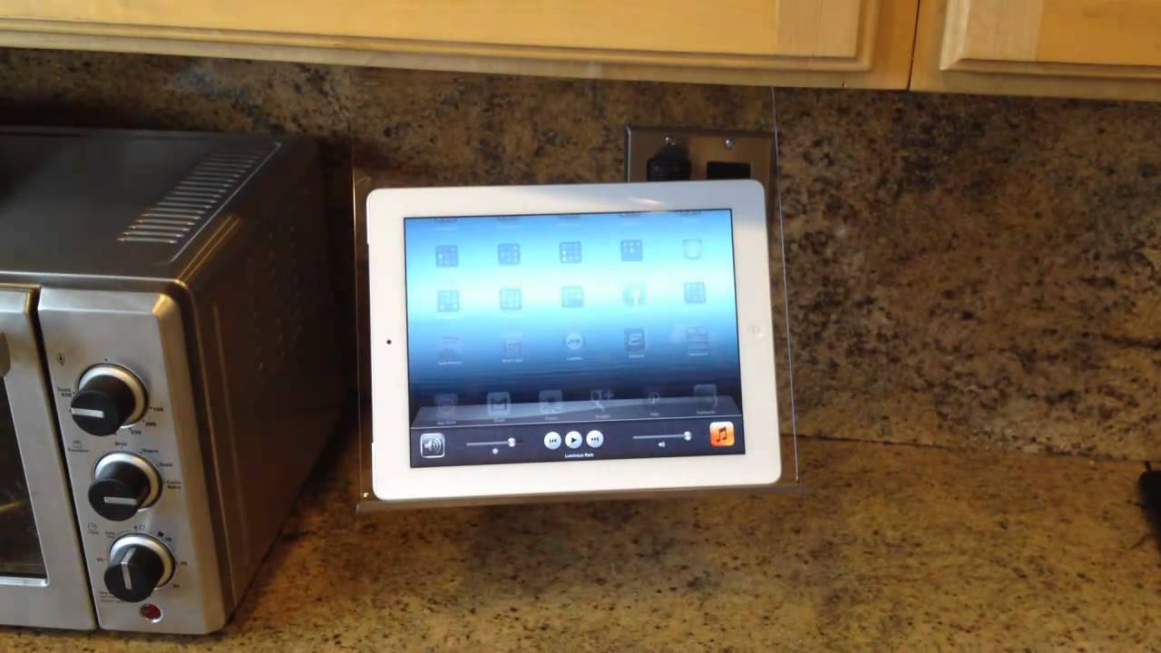 Original Kitchen iPad Rack Review - YouTube