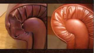 All Furniture Leather Vinyl Upholstery Repair Service Color Grain Matching Dyeing Restoring