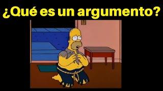 Concepto de argumento (Lógica)