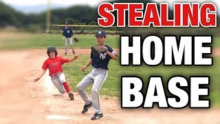 THIS KID IS THE BEST BASE RUNNER IN BASEBALL! | LITTLE LEAGUE BASEBALL GAME ANGELS VS YANKEES