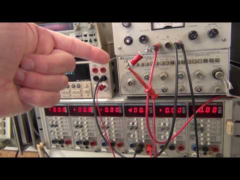 Keithley 617 Electrometer with LEAKY RELAY [PART 1] see also EEVblog #1017